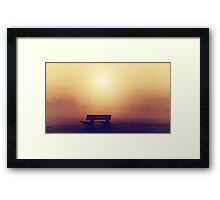Foggy Morning 3 Framed Print