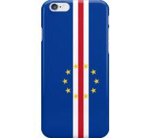 Cape Verde Flag iPhone Case/Skin