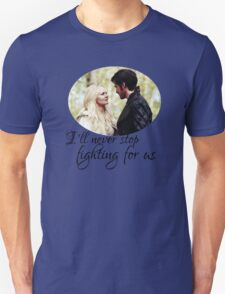 Captain Swan + quote T-Shirt