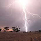 Lightning at Sunset by Aaron Paul Stanley