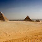 Gizah Pyramids by Unai Ileaña