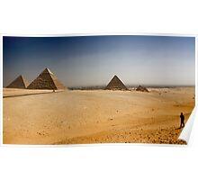 Gizah Pyramids Poster