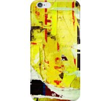 Old posters grunge iPhone Cases iPhone Case/Skin