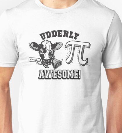 Funny Cow Pie Pi Unisex T-Shirt
