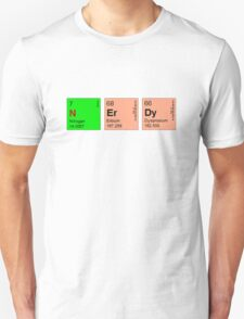 Nerdy -Periodic Table T-Shirt