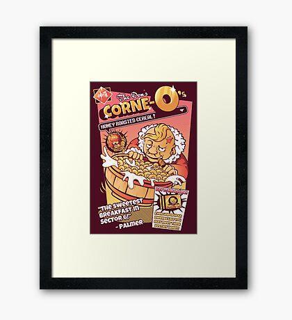 Don Corne-O's Framed Print