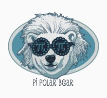 Funny Pi Polar Bear  by MudgeStudios