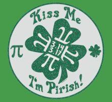 Kiss Me I'm Pirish Kids Clothes