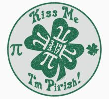 Kiss Me I'm Pirish Kids Clothes