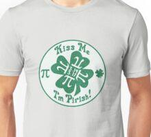 Kiss Me I'm Pirish Unisex T-Shirt
