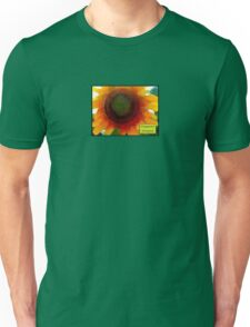 Disappoint Everyone Sunflower Unisex T-Shirt