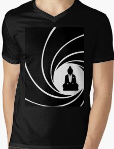 James Buddha Mens V-Neck T-Shirt