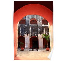 Archway to the Courtyard Poster