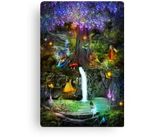 Fairy Bower Canvas Print