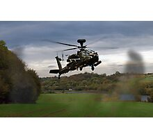 Apache In The Field Photographic Print