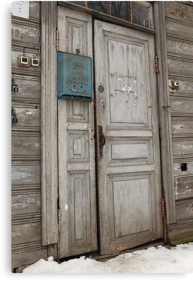 old entrance door by mrivserg
