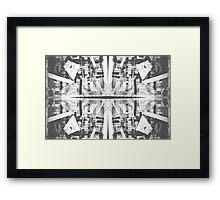 Graphic pattern Framed Print