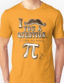 Funny Moustache Pi Day Unisex T-Shirt