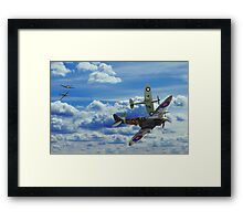Battle in the Skies Framed Print