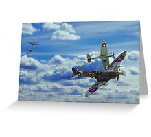 Battle in the Skies Greeting Card