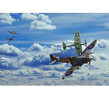 Battle in the Skies Photographic Print