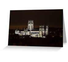 Durham Cathedral UK Greeting Card