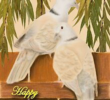 Valentine's Day Doves by jkartlife