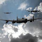 Avro Lancaster Bomber by J Biggadike