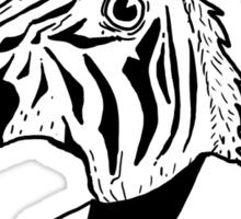 Zebra-corn Sticker