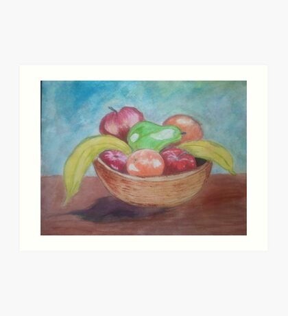 the fruit basket Art Print