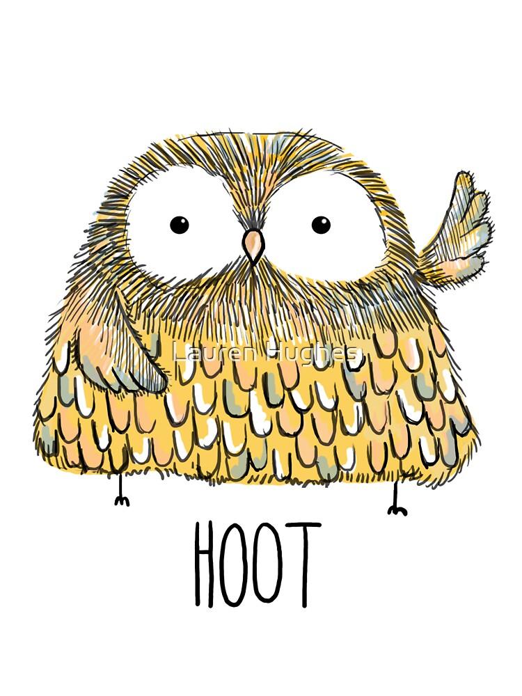 hoot by Lauren Hughes