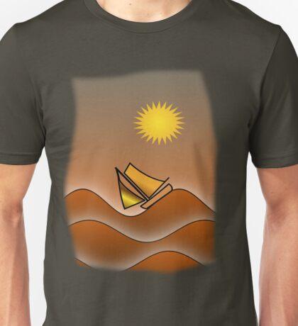Golden Seas (T-shirts/stickers) Unisex T-Shirt