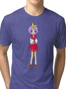 Tsukasa Hiiragi Tri-blend T-Shirt