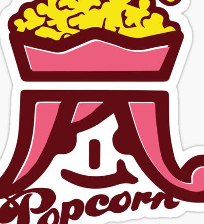 Arashi Popcorn Sticker