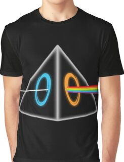 Dark Side of the M00n Graphic T-Shirt