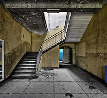 Yellow Hall by Jean-Claude Dahn