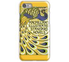 Art nouveau peacock publishing house iPhone Case/Skin