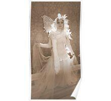Winter Victorian Fairy Poster