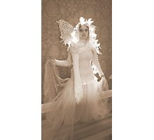 Winter Victorian Fairy Photographic Print