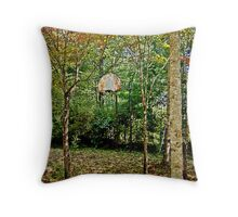 Difficulties With Dribbling Throw Pillow