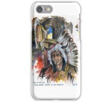 Four Bears Mandan Chief iPhone Case/Skin