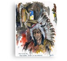 Four Bears Mandan Chief Canvas Print