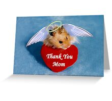 Thank You Hamster Greeting Card