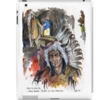 Four Bears Mandan Chief iPad Case/Skin