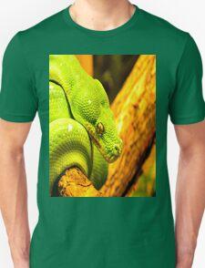 Emerald Tree Boa Unisex T-Shirt