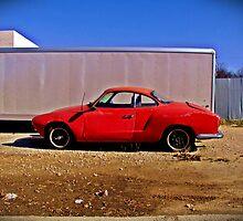 Karman Ghia, Abilene, Texas by Ralf372