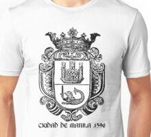 Ciudad de Manila 1596 Unisex T-Shirt