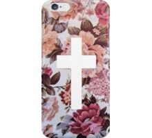 Floral Cross 3 iPhone Case/Skin