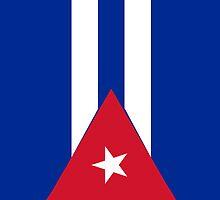 Cuba Flag by pjwuebker