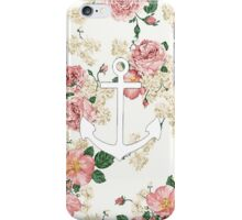 Floral Anchor 1 iPhone Case/Skin
